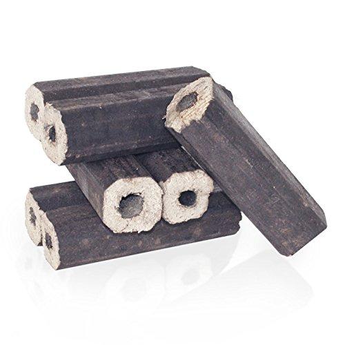 PALIGO Holzbriketts PiniKay Hartholz Buche Eiche Kamin Ofen Brenn Holz Heiz Brikett 10kg x 3 Gebinde 30kg  1 Karton Heizfuxx