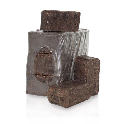 PALIGO Rindenbriketts Ruf Kiefernrinde Gluthalter Dauerbrenner Kamin Ofen Brenn Holz Heiz Brikett 12kg x 2 Gebinde 24kg  1 Karton Heizfuxx