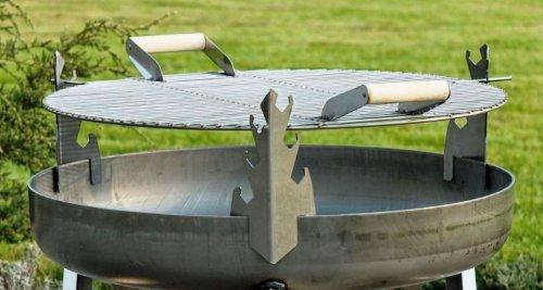 Feuerschale Feuerkorb VOMA Feuerstelle mit Grillrost