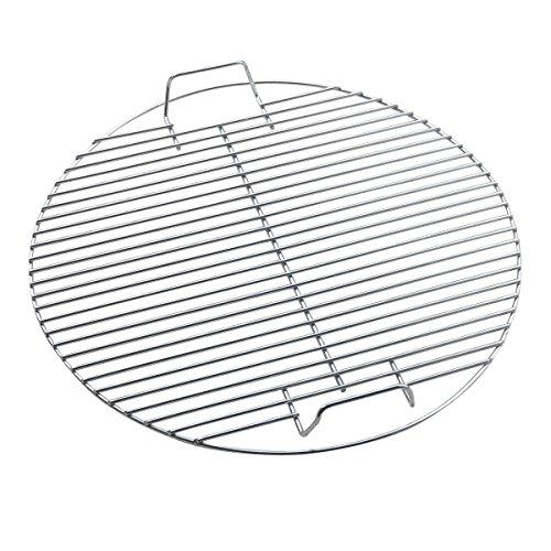 Huaxiong Grillrost aus Edelstahl rund robust für Grill oder Feuerschale 445 cm