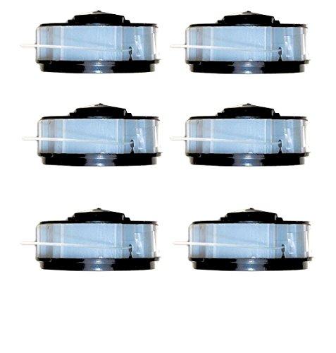 6 x Spule für Rasentrimmer passend für ALDI Gardenline Elektro Rasentrimmer