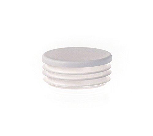 1 Stck Zollstopfen 2 12 Weiß Rundrohr Stopfen Kunststoff Abdeckkappen