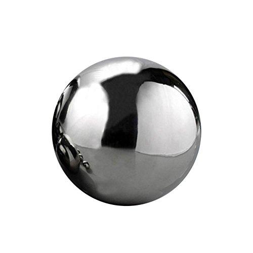 Dekokugel Set Silberkugel Polierte Edelstahl Kugel 19-30cm Garten Ball schwimmenden Ball dekorative Kugel Edelstahl 1 PC